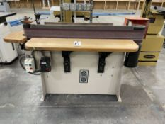 """Crouch 245-48S 0SC Osciallating Edge Sander. SN 032098. Equipped with 8"""" x 48"""" graphite covered"""