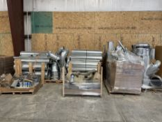 Lot of Approximately 1,000+ Feet of Entecco Dust Collector Pipes. Equipped with various lengths