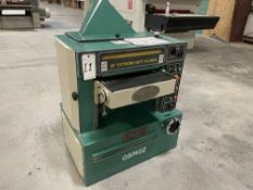 """2018 Grizzly G9740Z 20"""" Helical Head Planer. SN 18B2919, Year 2018. Equipped with 7.5 HP 3450 RPM"""