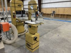 """2019 Powermatic PWBS-14 14"""" Vertical Bandsaw. SN 19120769, Year 2019. Equipped with 1.5 HP motor,"""
