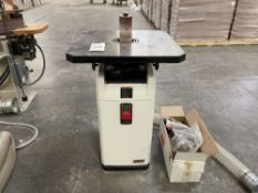 """Jet JOSS-S Oscillating Spindle Sander. SN 20012219. Equipped with 1 1/2"""" oscillating action, tilting"""