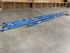 """Lot of Prevost PPS 32-1 1/4"""" WP 232 PSI Air Lines. Includes several feet of line. Stack measures"""