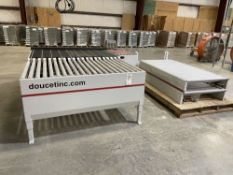 """2019 Doucet XPRS-36-5-17-G Return Conveyor. SN 2019-04-110, Year 2019. Equipped with 36"""" wide x"""