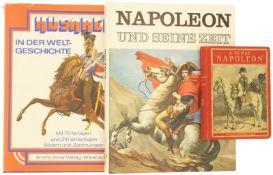 Konvolut von drei Büchern zu Napoleon/Husaren