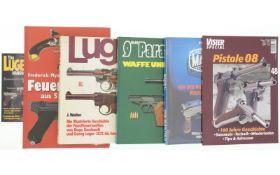 Konvolut 4 Bücher und 2 Hefte