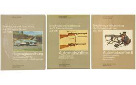 Konvolut von 3 Bänden Bewaffnung und Ausrüstung der Armee seit 1817