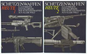 """Konvolut von 2 Büchern """"Schützenwaffen heute, 1945-1985"""""""