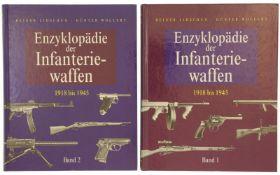 """Konvolut von 2 Büchern """"Enzyklopädie der Infanteriewaffen, 1918 bis 1945"""""""