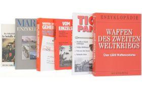 Konvolut 5 Bücher und 1 Heft