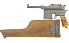 Pistole, Mauser C96, Bolo, Kal. 7.63mmMauser