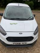 FG68 YCH FORD TRANSIT COURIER BASE