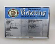 Preistafel Kesselring Marktsteft