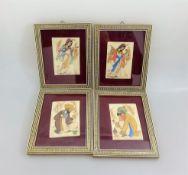 4 Miniaturen Isfahan