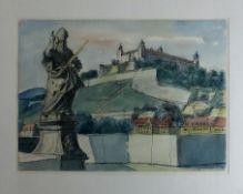 Curd Lessig (1924-2019 Würzburg)