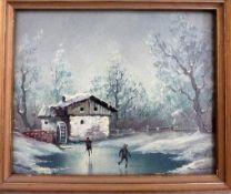 Gemälde Th. Noack