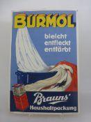 Reklametafel Burmol