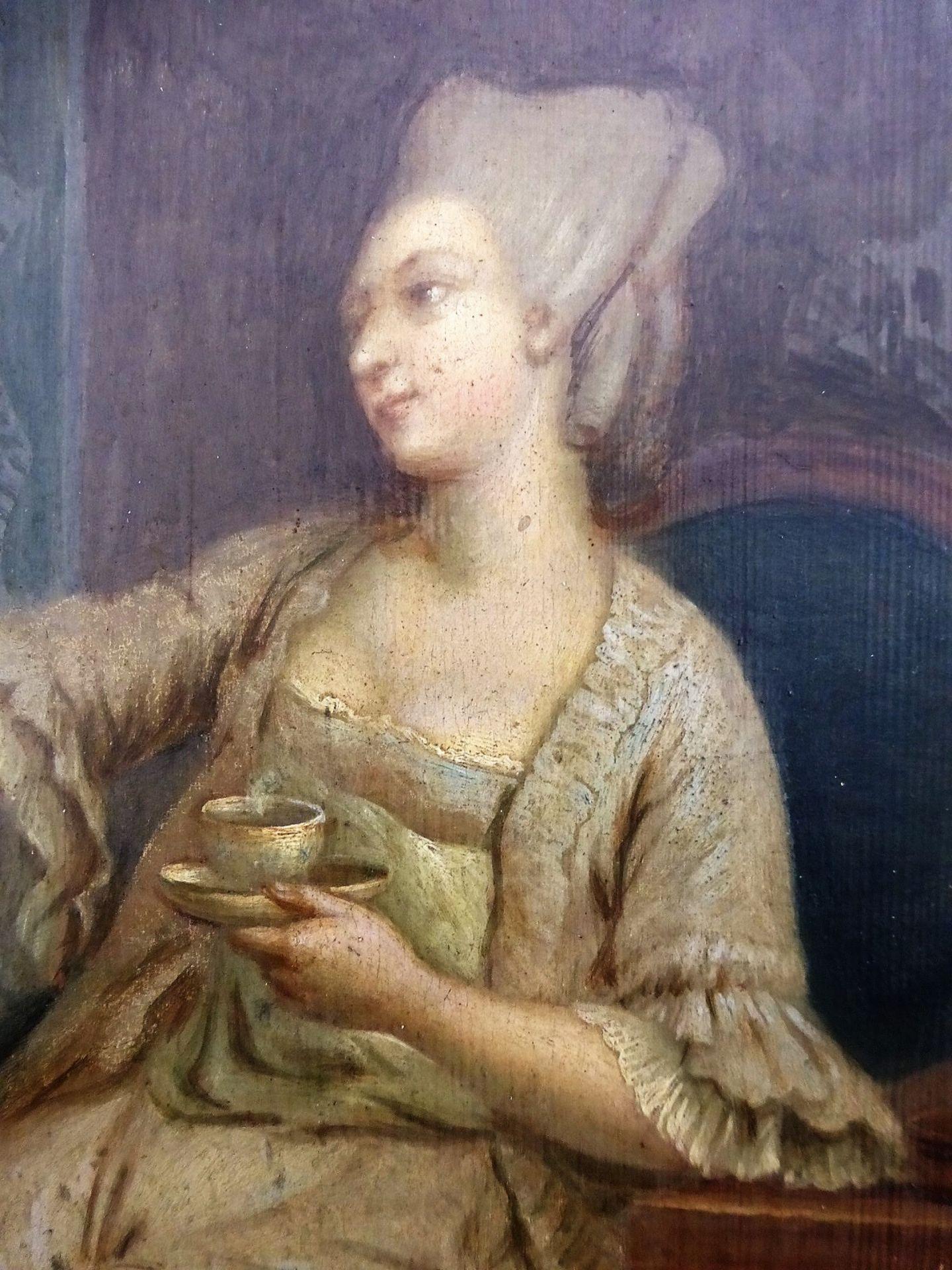 Gemälde Frankreich um 1800 - Image 3 of 4