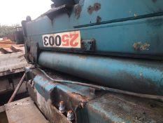 PM 25003 truck mounted Crane