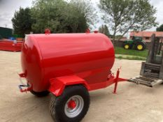 Dust suppresion Bowser, 1500 litre, good working order, Honda water pump