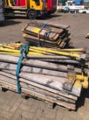 Large quantity of quick form Scaffolding