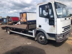 1998 Iveco Ford beaver tail Truck