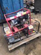 3x petrol Honda Generators
