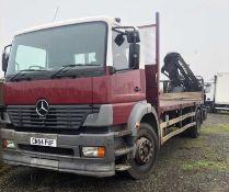 2004 Mercedes Atego Crane Truck
