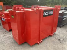 2000 litre bunded fuel tank with hand pump