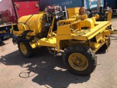 Dumper mounted diesel Jetter