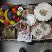 Royal Doulton Bunnykins side plate, dessert plate