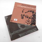A record sleeve printing plate, Saga Records LTD,