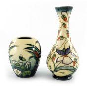 Rachel Bishop for Moorcroft, Sweet Thief vase