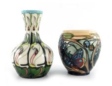 Emma Bossons for Moorcroft, Lily come home vase