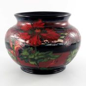 Paul Hilditch for Moorcroft, a Flambe Triumph of Nature vase