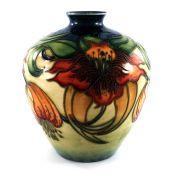 Nicola Slaney for Moorcroft, Anna Lily vase, 1998