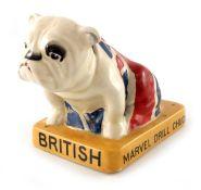 Royal Doulton for Louis Wearden and Guy Lee Ltd., British Bulldog figure