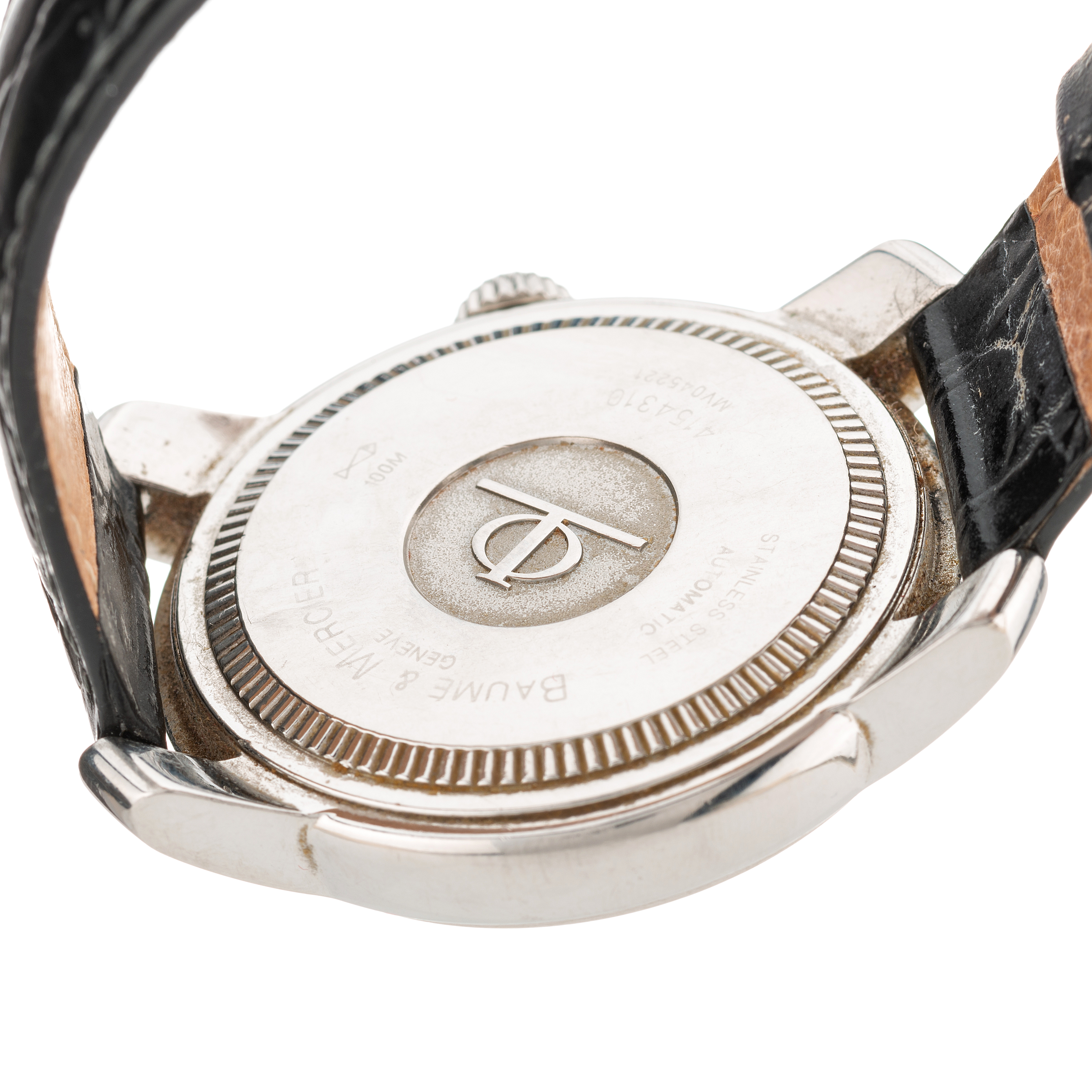 Baume & Mercier, a stainless steel Capeland automatic wrist watch - Image 2 of 3