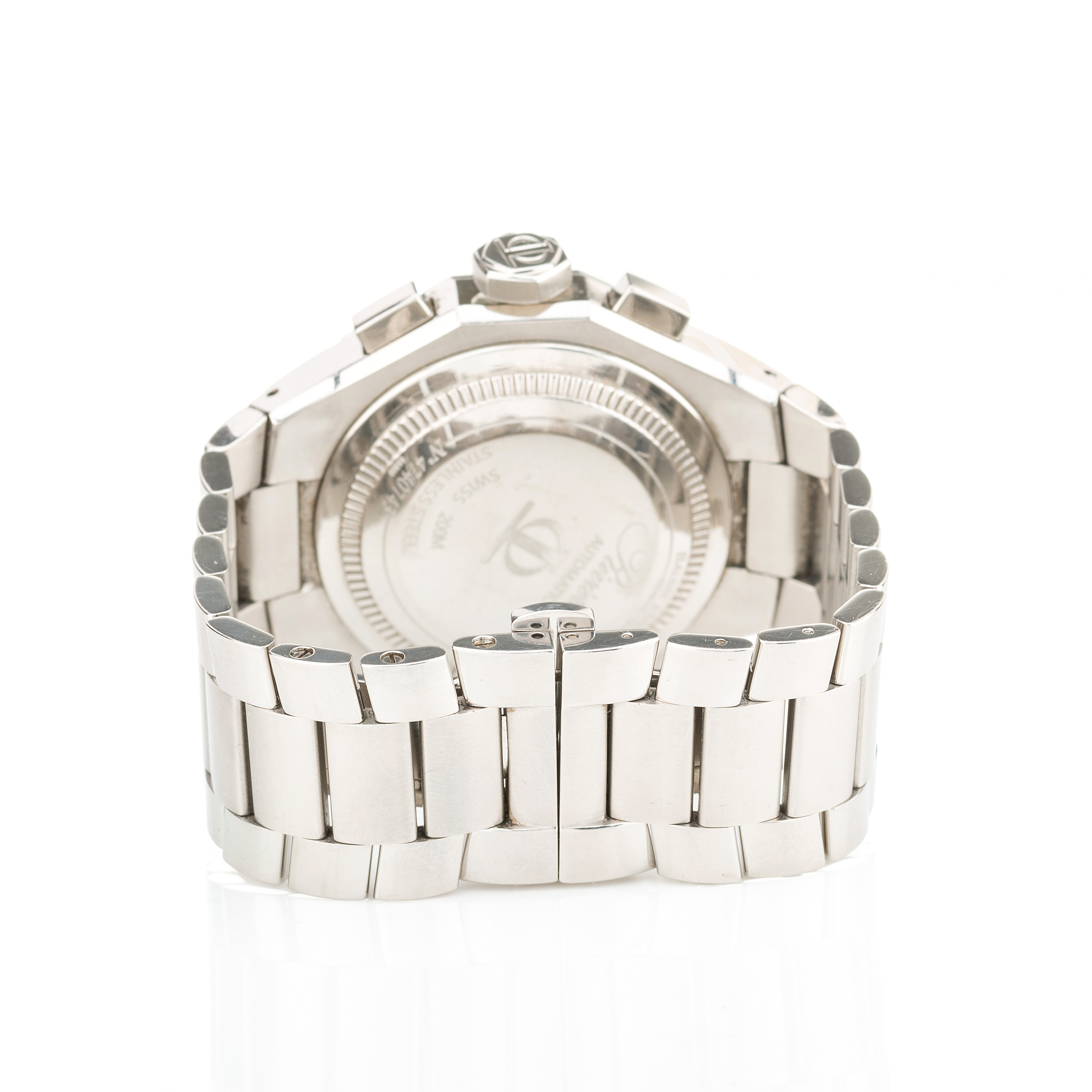 Baume & Mercier, a stainless steel Riviera automatic chronograph bracelet watch - Image 3 of 4