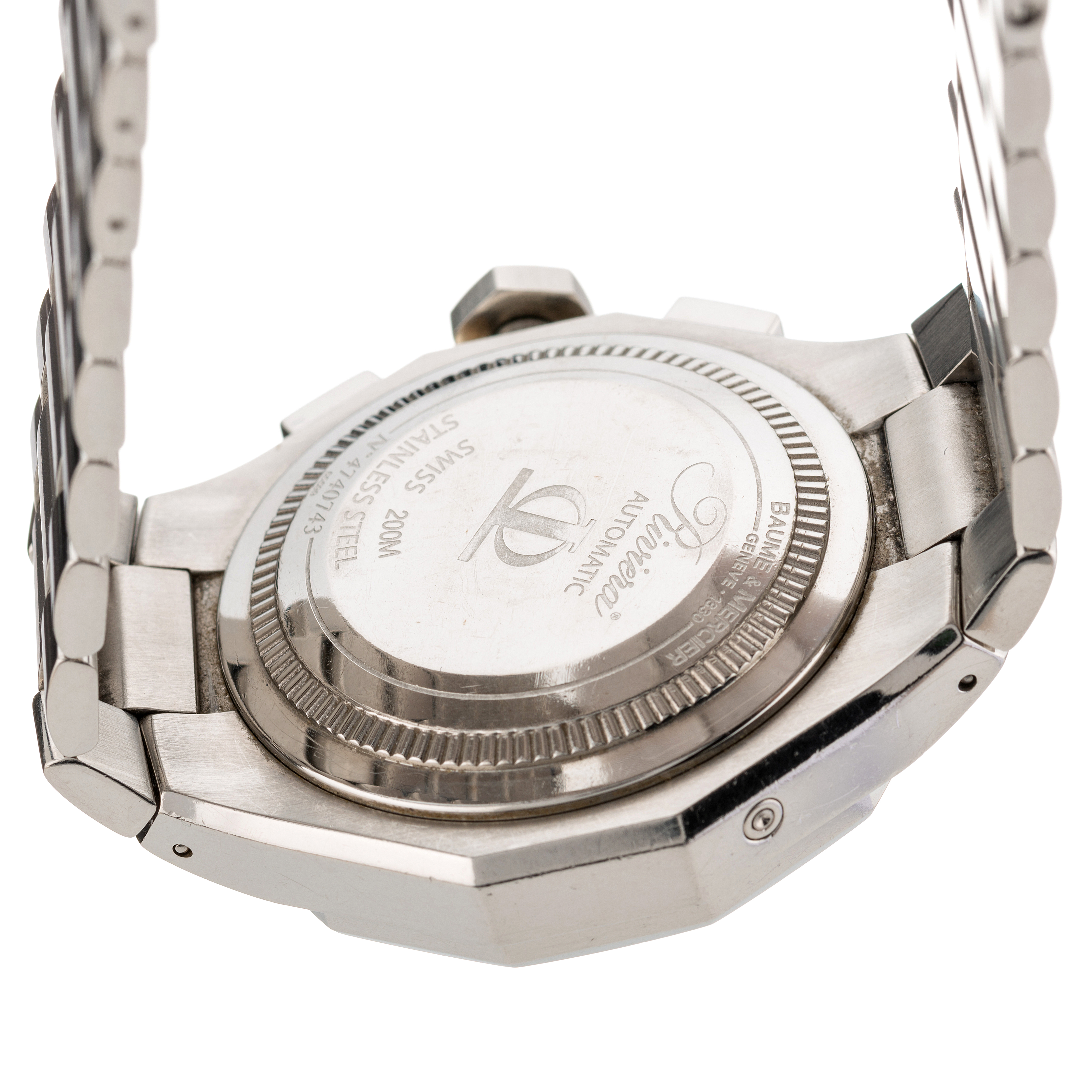 Baume & Mercier, a stainless steel Riviera automatic chronograph bracelet watch - Image 2 of 4