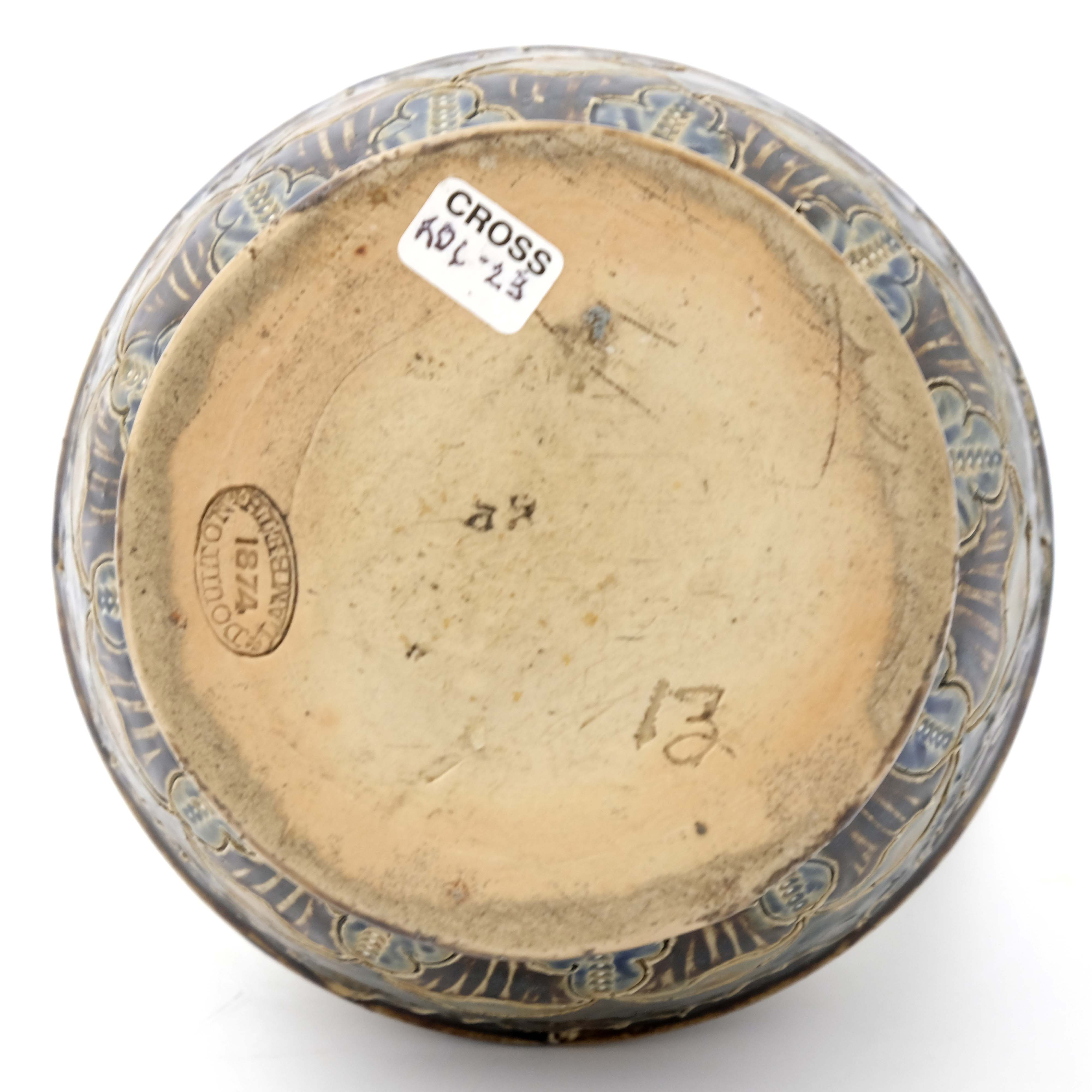 George Tinworth for Doulton Lambeth, a stoneware j - Image 6 of 6
