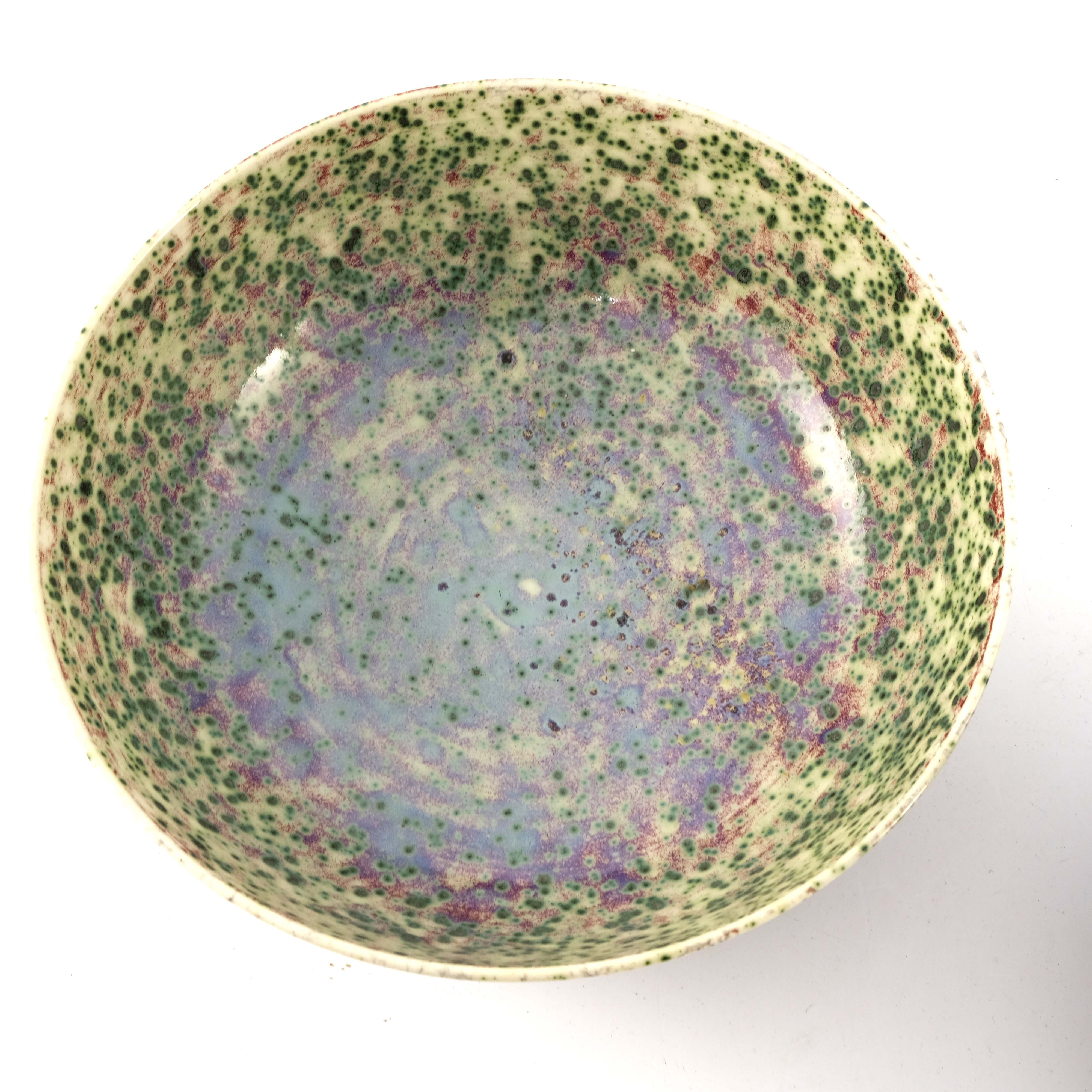 Ruskin Pottery, a High Fired bowl - Image 6 of 6