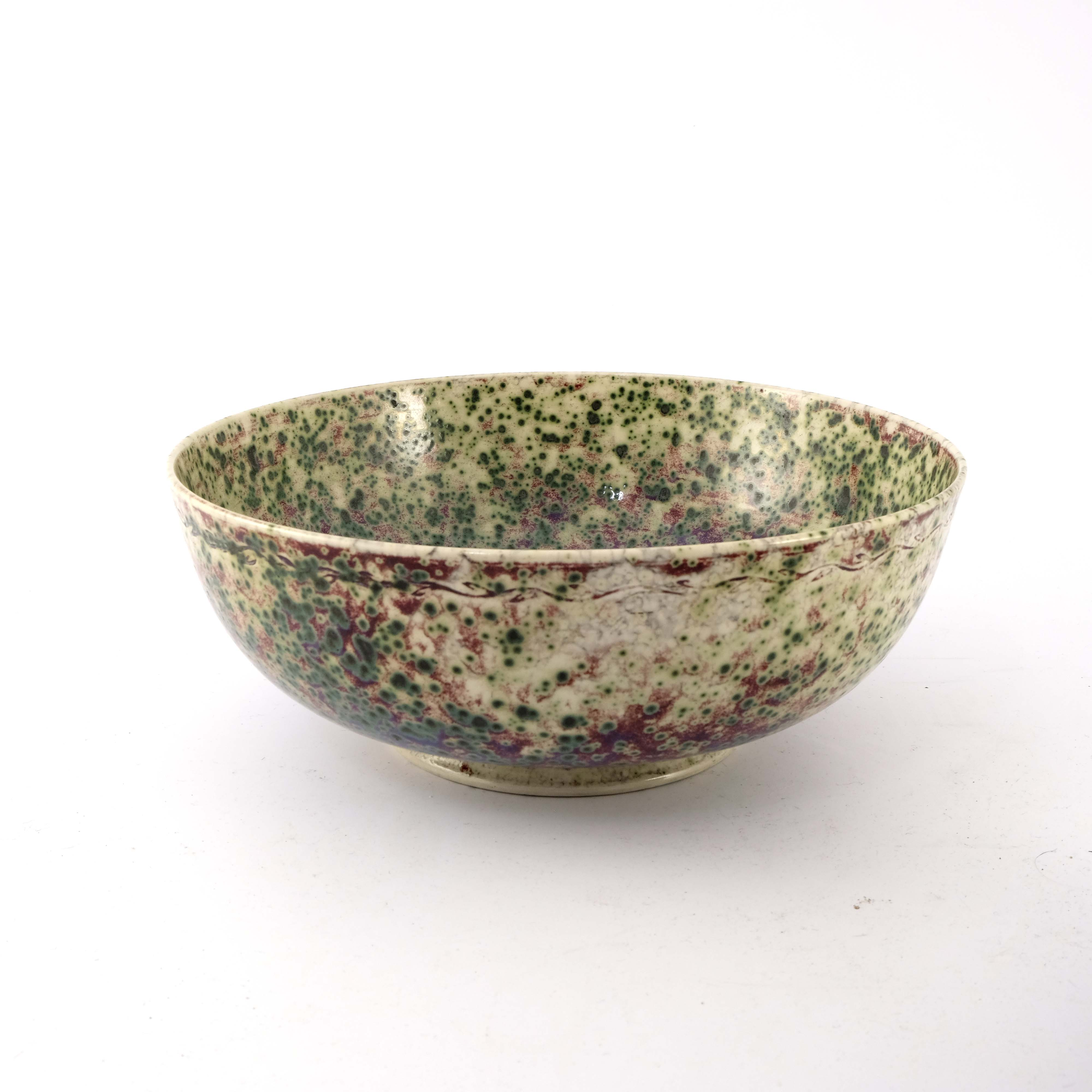 Ruskin Pottery, a High Fired bowl - Image 3 of 6