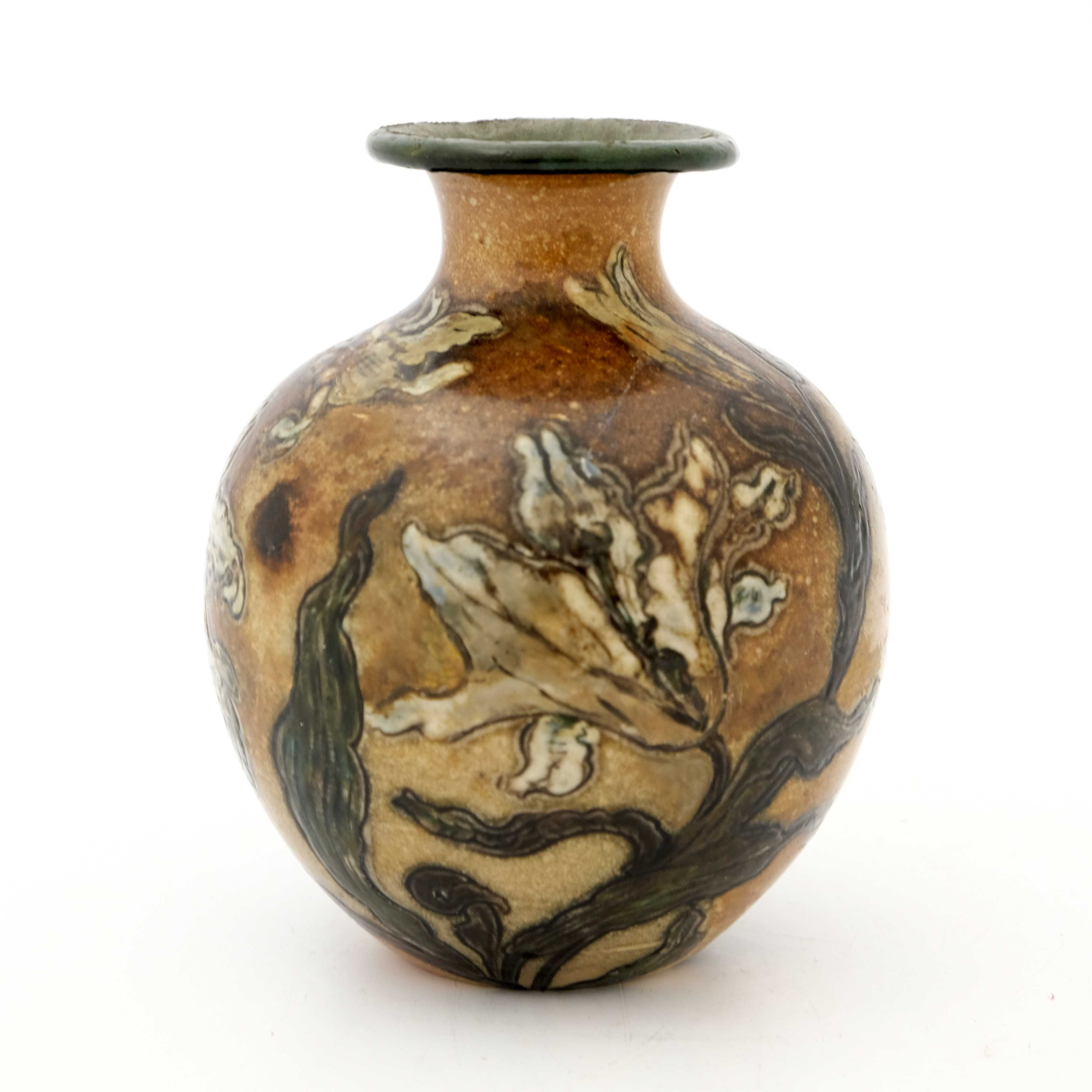 Edwin Martin for Martin Brothers, a stoneware vase