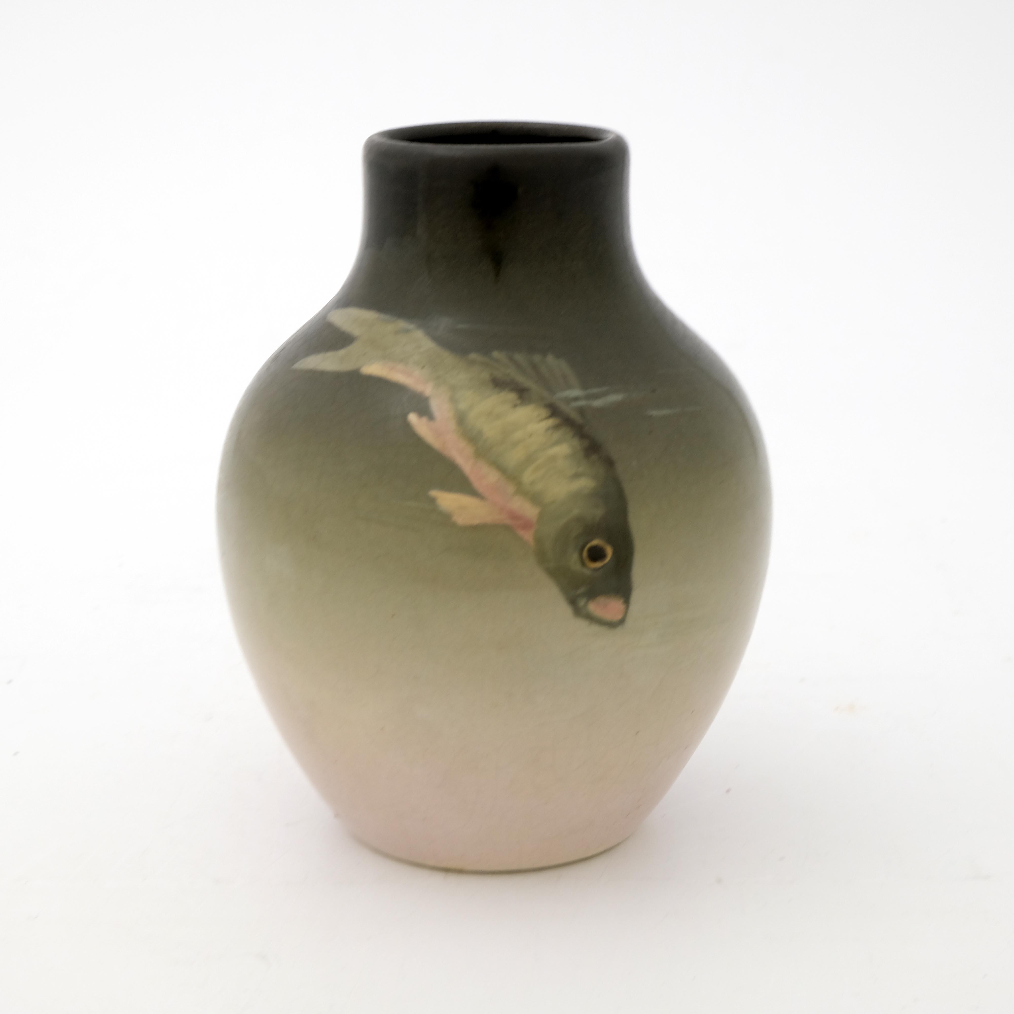 Weller Pottery, an Eocean ware vase