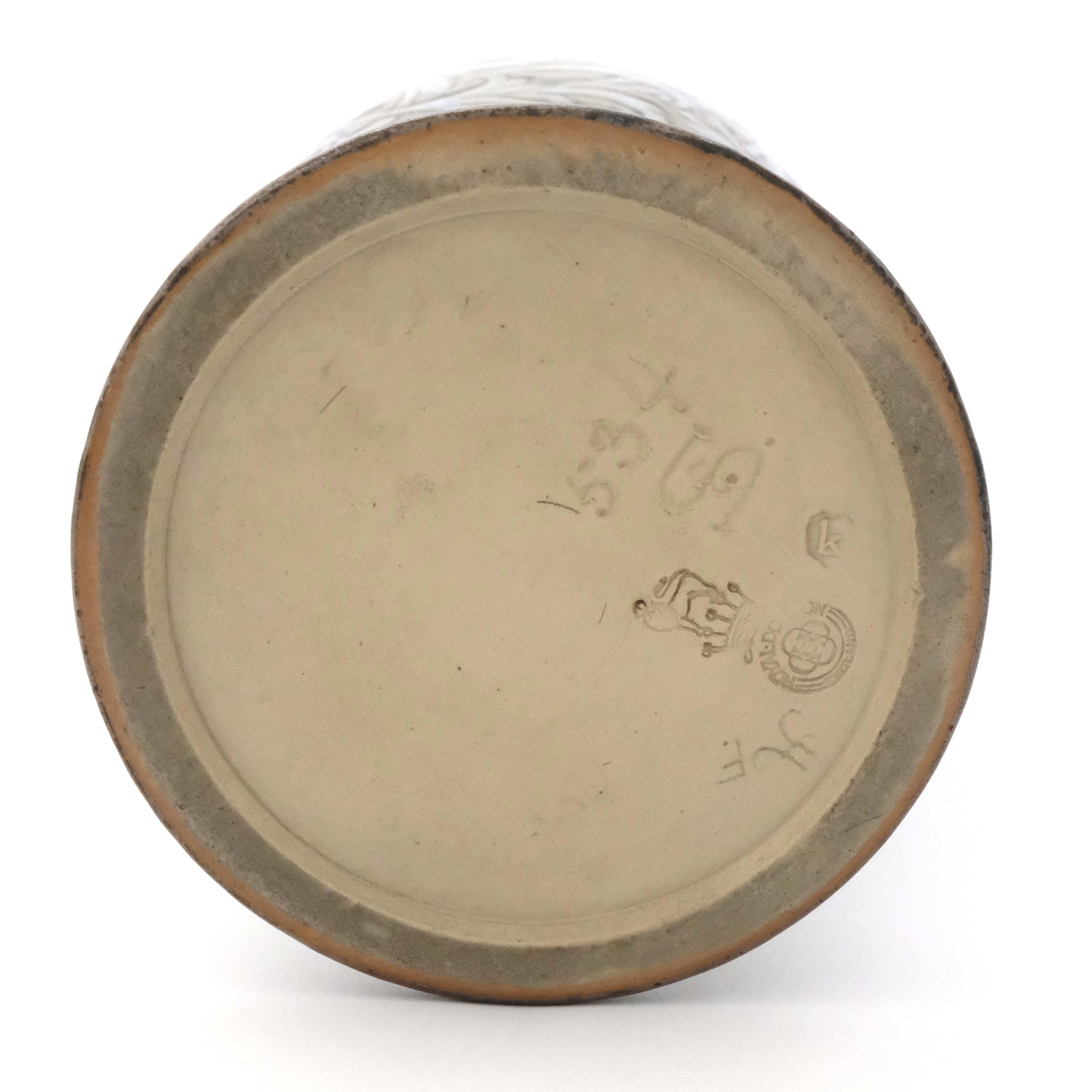 Eliza Simmance for Royal Doulton, a stoneware vase - Image 5 of 5