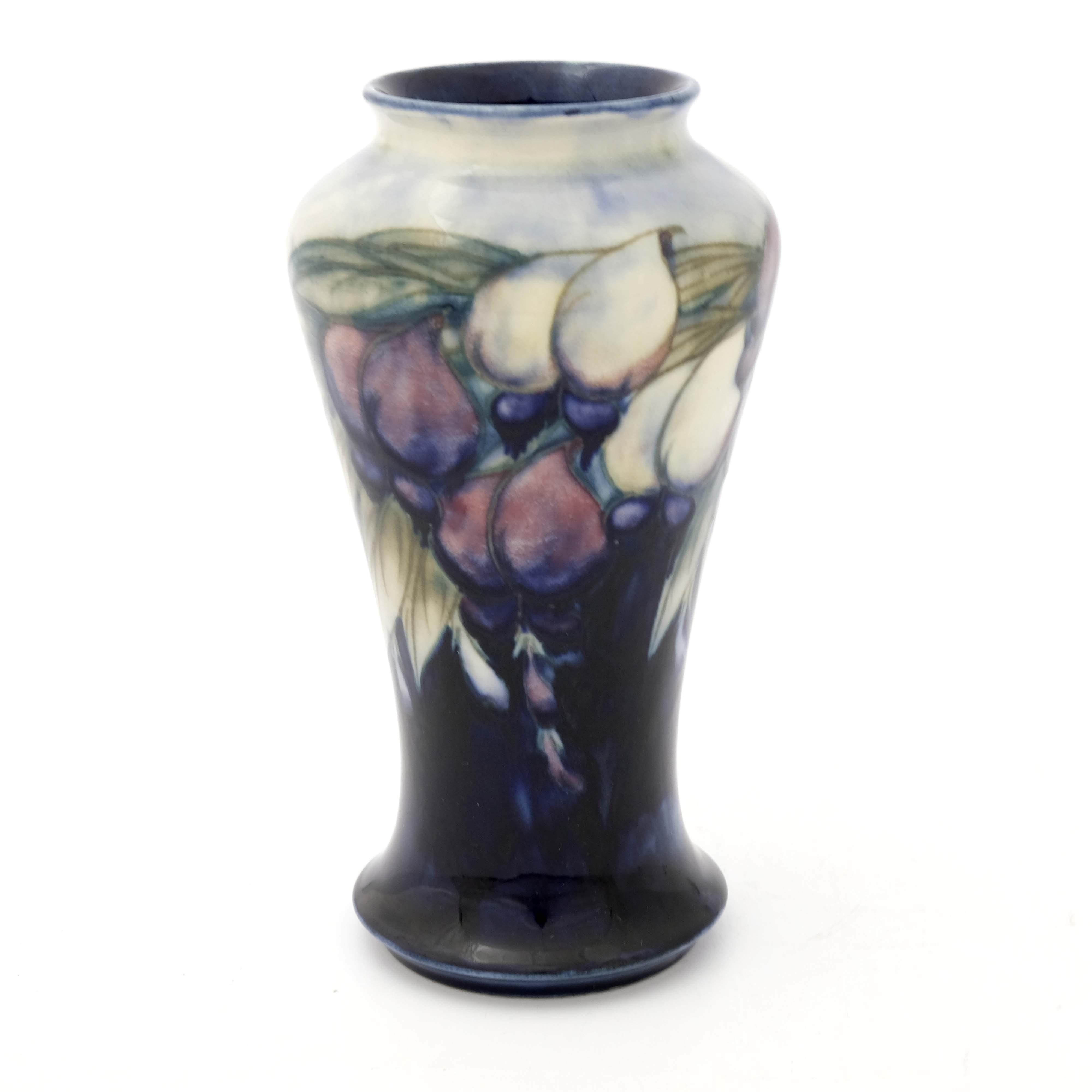 William Moorcroft, a Wisteria vase