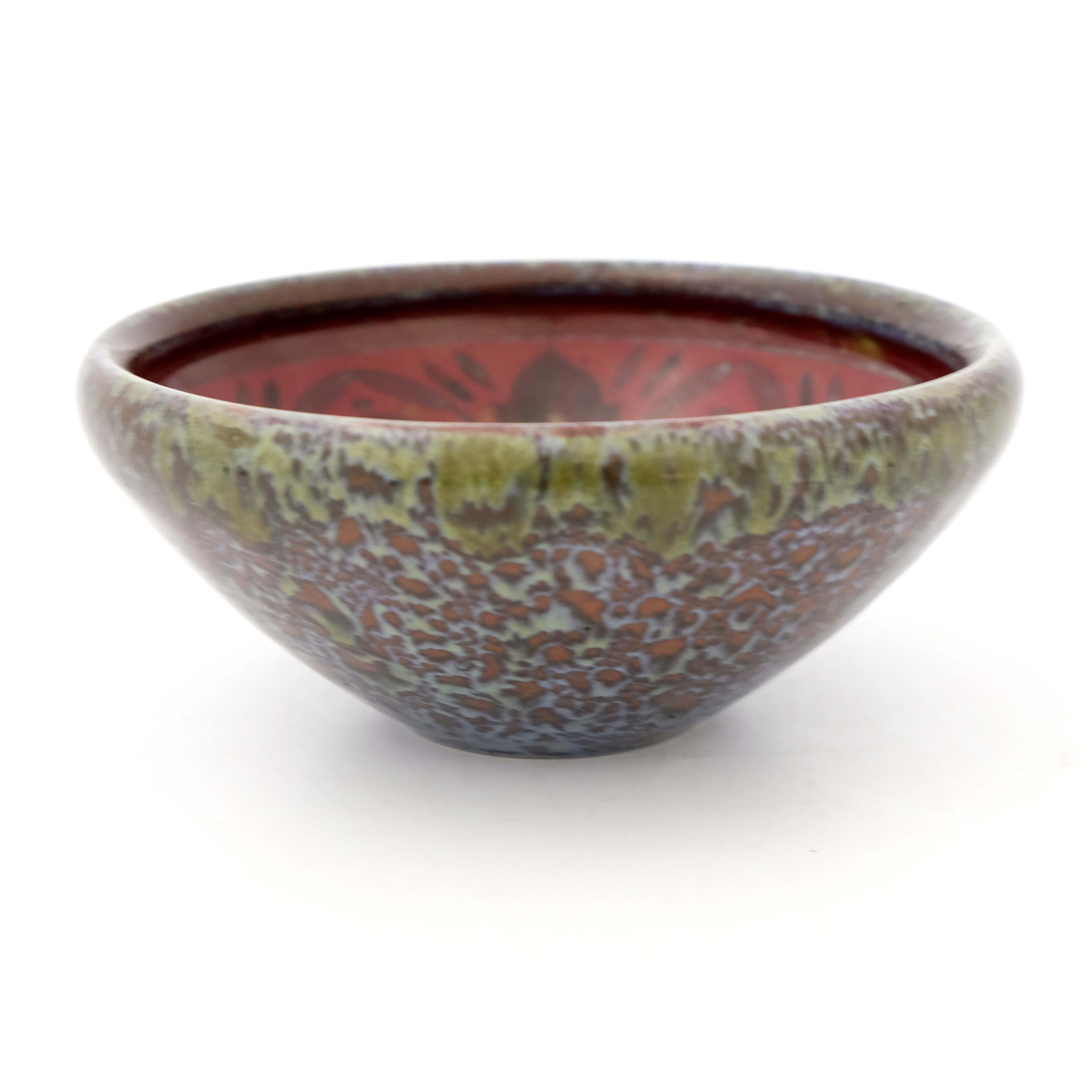 Charles Noke for Royal Doulton, a Sung Flambe bowl - Image 2 of 5