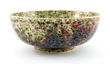 Ruskin Pottery, a High Fired bowl