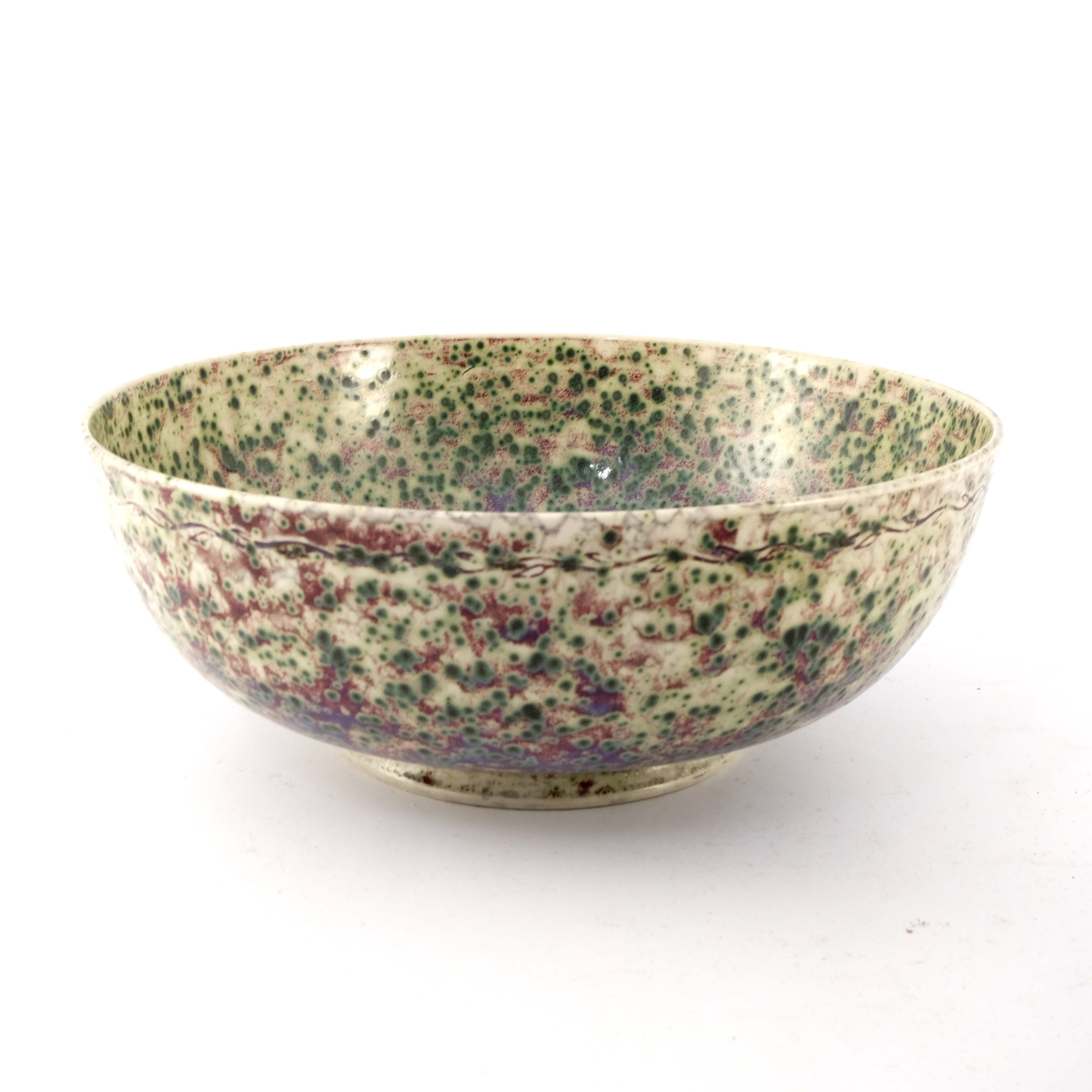 Ruskin Pottery, a High Fired bowl - Image 4 of 6