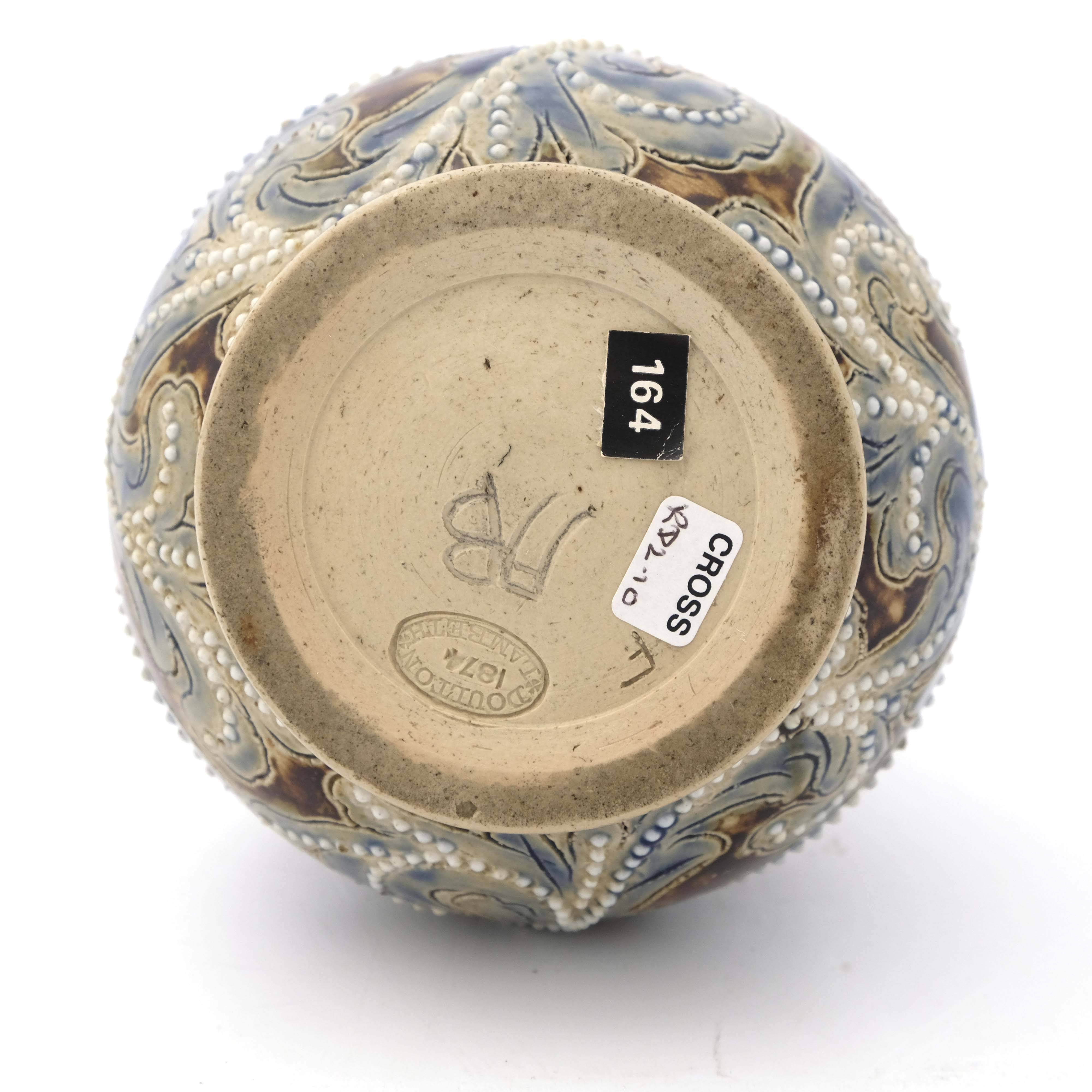 Frank Butler for Doulton Lambeth, a stoneware jug - Image 6 of 6